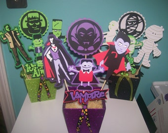 Halloween Table Centerpiece - Individual Setting Centerpiece - 3 to choose from