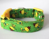 Woodstock Peanuts Dog Collar Size Extra Small, Small, Medium or Large