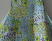 VIntage Style Woman's Full Apron in Contemporary Cotton Fabric