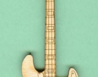 Fender Electric Bass (MU-006) - Laser Cut