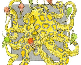 Gelatopus - Archival Print