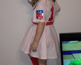 Rockford Peaches costume and hat