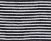 By The Yard 100% Cotton Stretch Fabric Black & White Striped Crafts Sewing Home Décor