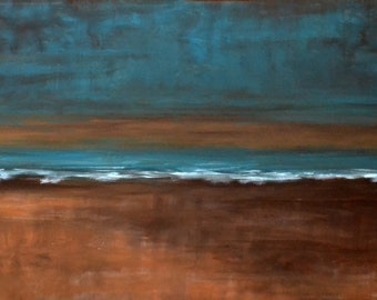 """SALE <<---- 24x31x1.5"""" Original Modern Semi Impressonist Contemporary Abstract Landscape Painting"""