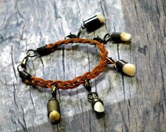 Trophy Bracelet - a dark accessory for a natural born hunter