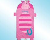 Nap Mat - Personalized and Embroidered - GIRL HORSE