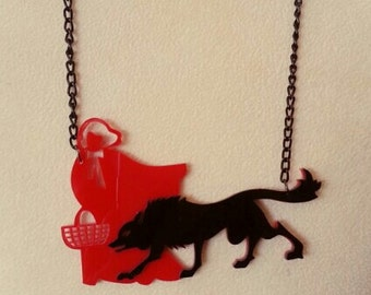 Red Riding Hood necklace.