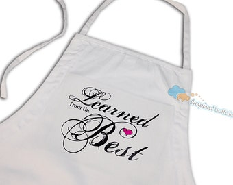 Full Apron in memory of mom honor of mom Mothers Day Apron Thoughtful