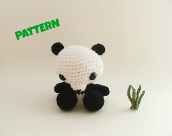 Panda Pattern / Halloween Pattern / Kid Toys / Amigurumi Pattern / Crochet Pattern / Crochet Animal Pattern / Amigurumi Animal Pattern