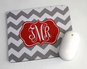 Personalized Mouse Pad  Monogrammed Mousepad Personalized Mouse Pad Mouse Pad Custom Mouse Pad
