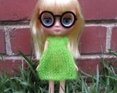 Knitting Pattern- Mohair Dress for Middie Blythe