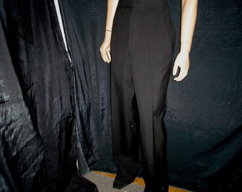 60s 2XL Tuxedo Pants Adjustable Waist Deadstock NWT