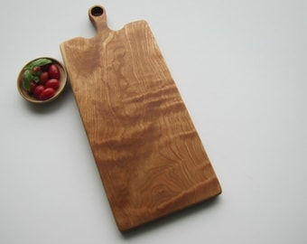 Wood cutting board solid cherry, made to order