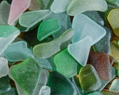 Jelly Bean Mix Sea Glass from Scotland
