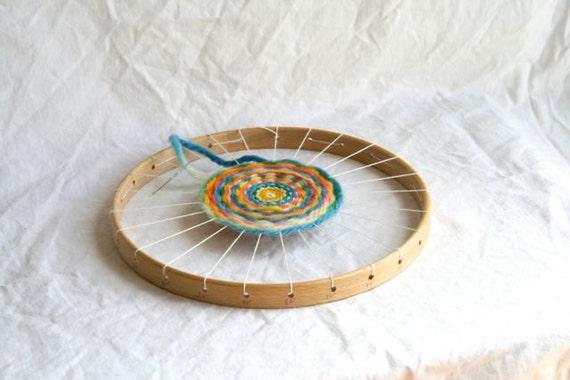 Per i bambini telaio in legno bambini chraft tessitura - Telaio da tavolo per tessitura a mano ...
