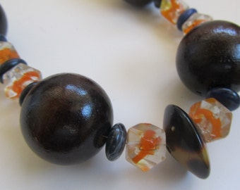 Autumn Harvest Beaded Necklace