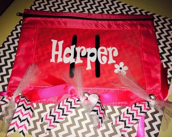 Personalized Pencil Bags/Binder Pouch