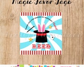 MAGIC PARTY favor tags - YOU Print