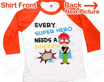 superhero big brother shirt | graphic tee | big brother to be comic superhero pregnancy announcement Every Super Hero needs a Sidekick