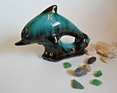 Vintage Blue Mountain Pottery Small Dolphin  BMP