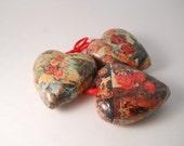 Three pretty Heart Ornament