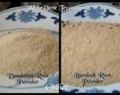 Reserved DANDELION Root Powder or BURDOCK Powder Organic 1oz Magic & Medicine Herb Internal/External Detox Purify Psychic Cleanse Protect