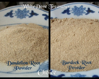 Reserved DANDELION Root Powder or BURDOCK Powder Organic 1oz Magic & Medicine Herb Internal/External Detox Purify Psychic Cleanse Protect
