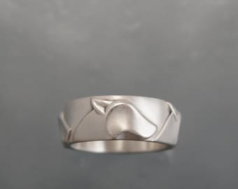 silver wolf band