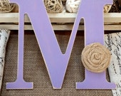 Distressed Wooden Letter