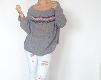 Super Comfy Earthy Sweater.