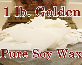 Soy Candle Wax Flakes, 1 lb. (GW 444)