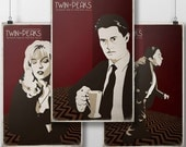 Twin Peaks - Red Room 3 Pack - Laura Palmer, Man from Another Place, Dale Cooper