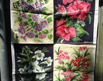 Bermuda Flowers Towel