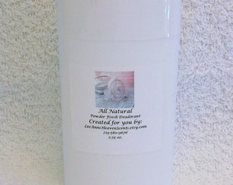 Powder Fresh All Natural Deodorant