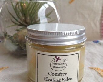 Comfrey Healing Salve - 2oz by MoonDance Botanicals; Herbal Healing; Botanical Healing Salve; All Natural Healing Salve