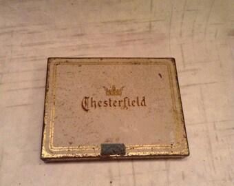 1930S Chesterfield Cigarette Tin