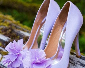 Bohemia Organza Shoe Clips