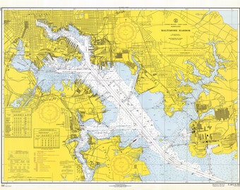 Baltimore Harbor 1967