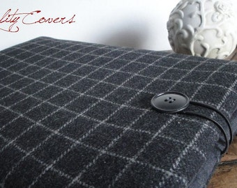 Laptop Sleeve Customizable for Color fabrics and Size - Laptop case - Laptop cover - PADDED foam - WATERPROOF lining - extra POCKET