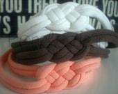 Sailor Knot Celtic Knotted Headband- Top Knot Stretch Headband