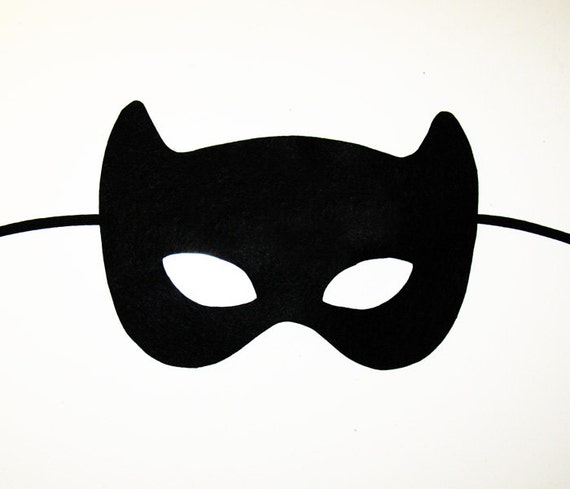Batwoman mask template - photo#16