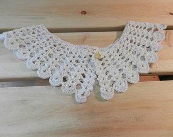 Vintage Crochet Collar