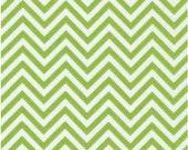Sale - Ann Kelle Chevron Remix in Lime for Robert Kaufman Fabrics (1 yard)