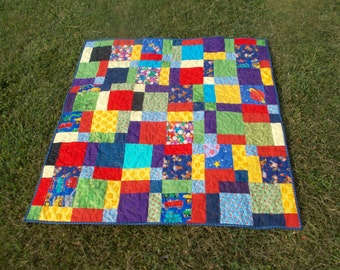 Bright Eye Candy Quilt
