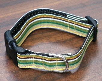 "Ready To Ship - 5/8"" Dog Collar ONLY - Summer Savannah"