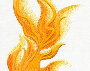 Elegant Koi Embroidered Flour Sack Hand/Dish Towel