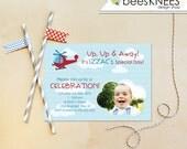 Helicopter Birthday Invitation Printable