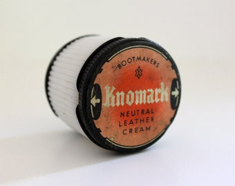 Vintage bottle / container - Duplex package
