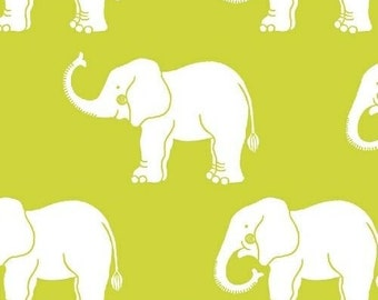 Another Point of View - Trunk Show Green Elephants from Windham Fabrics