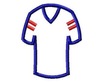 Jersey - Applique - 10 Sizes